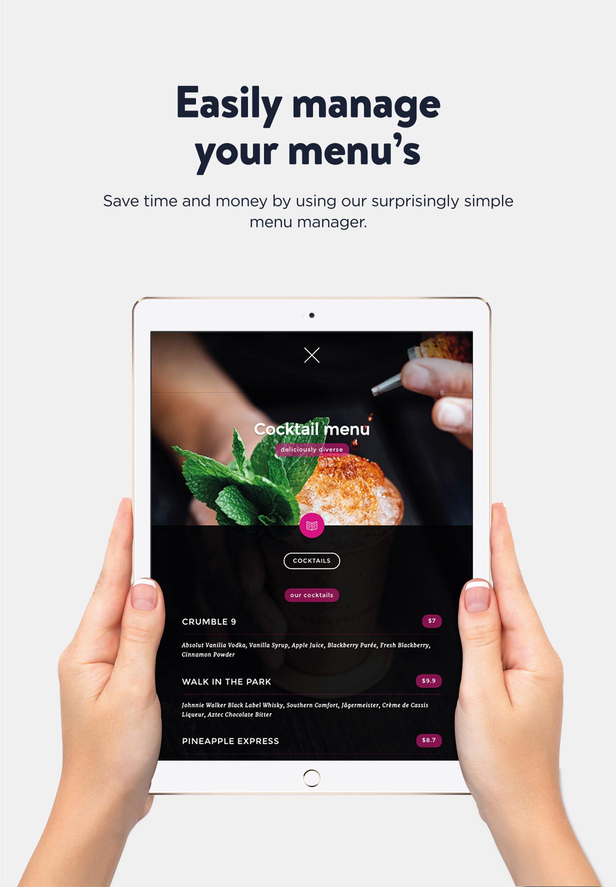 Ambiance Restaurant menu management Ambiance - Restaurant WordPress Theme Nulled Free Download Ambiance – Restaurant WordPress Theme Nulled Free Download 5